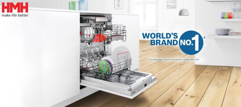 """Hỏi 10 chị em nên mua máy rửa bát nào thì đến 9 người hô hãng Bosch, liệu """"đỉnh"""" tới mức độ nào mà hot thế?"""